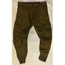 Pantalon marron militaire