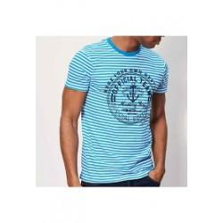 T/shirt bleu marine
