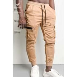 pantalon fashion beige